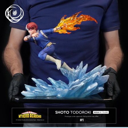 My Hero Academia Enter The Hero Shoto Todoroki (Banpresto)