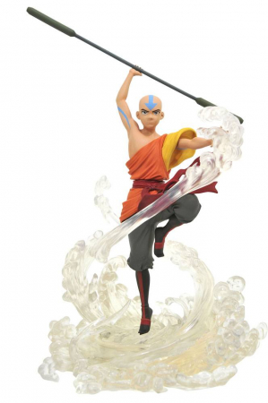Avatar Der Herr der Elemente Gallery PVC Statue Aang 28 cm Statues Avatar The Last Airbender (Diamond Select)