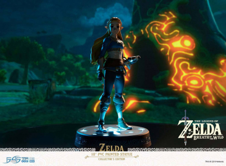 The Legend of Zelda Breath of the Wild PVC Statue Zelda Collector's Edition (First 4 Figures)