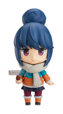 Laid-Back Camp Nendoroid Rin Shima DX Ver. (Max Factory)